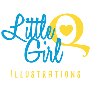 Little Girl Q Illustrations