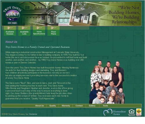 Troy Davis Homes