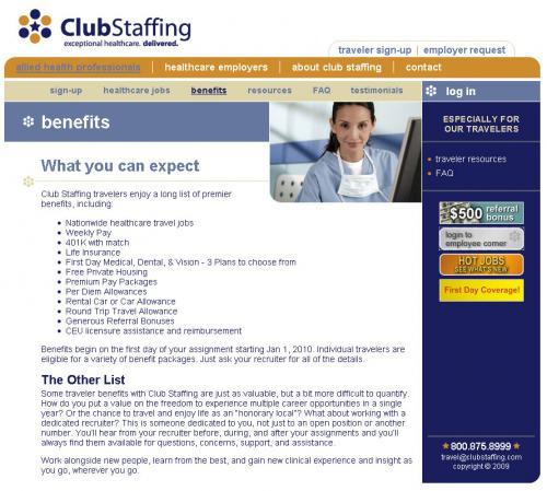 Club Staffing (2 of 2)
