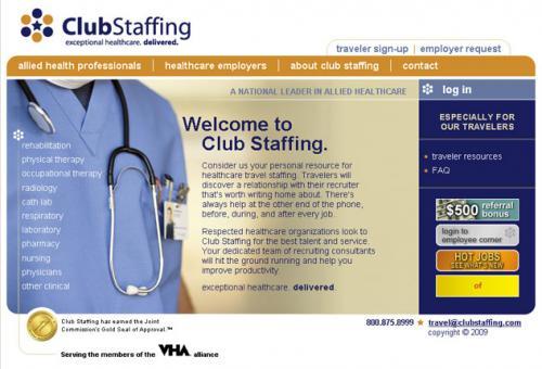 Club Staffing (1 of 2)