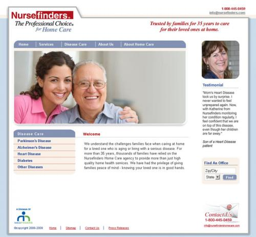 Nursefinders Home Care (1 of 2)