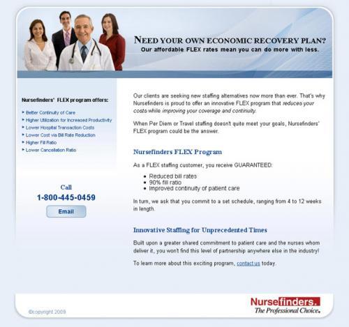 Nursefinders Flex Program